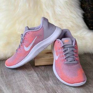 Nike Flex Free Run Atmosphere grey/peach Size 7.5
